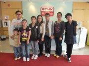 參與訪問的老師及同學合照