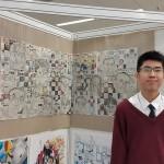 5A周子浩同學作品入選展覽