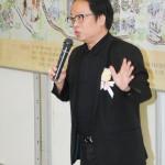 中文大學教育學院院長副院長劉兆瑛教授致詞